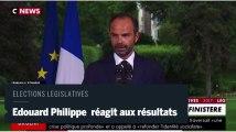 Edouard Philippe appelle les électeurs à aller voter au second tour