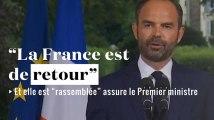 """Édouard Philippe : """"La France est de retour"""" après les résultats du 1er tour des législatives"""