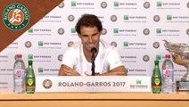 Roland Garros 2017 : Finale Conférence de presse Rafael Nadal