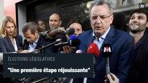"""Législatives : """"Une première étape réjouissante"""" pour La République en marche déclare Ferrand"""