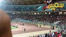 أجواء الشوط الأول بين المنتخب التونسي و المنتخب المصري