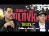 Abel Sanchez I think Cotto Is A Threat But We Need To See Him in Ring vs GGG to find out