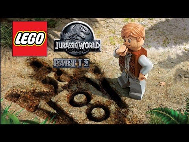 Lego Jurassic World (Xbox One) Part 12: Jurassic Park III Part 1: Landing Site