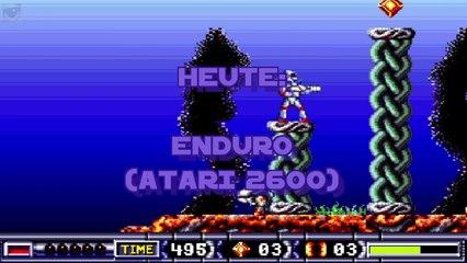 #030 - Atari 2600 - Enduro (Original HW) (Activision, 1983)