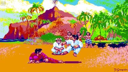 #031 - Atari 2600 - Smurf - Rescue in Gargamel's Castle (Original HW) (Coleco, 1982)
