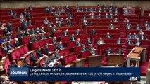 Législatives 2017: 400 à 455 sièges à l'Assemblée pour LREM