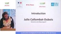 9 - Introduction par Julie Collombat-Dubois, directrice de Natureparif