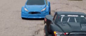 Fast and Furious version voitures télécommandées... GENIAL !!