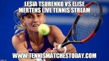 Lesia Tsurenko vs Elise Mertens Live Tennis Stream - WTA s-Hertogenbosch - 12:00 UK - 12th June