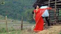 malayalam hot actress Meera Jasmine hot navel  red saree