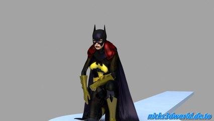 Batgirl Cape Test
