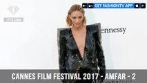 Cannes Film Festival 2017 - Amfar ft.Anja Rubik - Part 2   FashionTV