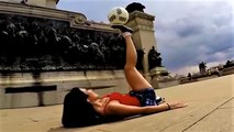 Football Freestyle Show by Amazing Girls | Amazing Football Freestyle