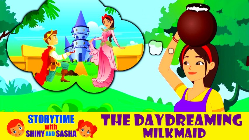 The Daydreaming Milkmaid | Bedtime Stories For Kids | Koo Koo Tv | Moral Stories