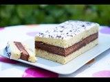 Gâteau Napolitain fait maison pour le goûter (chocolat et vanille)
