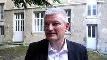 Interview d'Olivier Falorni (DVG), qualifié pour le second tour des législatives à La Rochelle-île de Ré