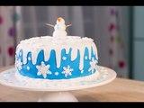 Gâteau Frozen. Gâteau de la Reine des neiges