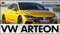 Volkswagen VW Arteon 2.0 TDI R-Line 4Motion Test & Fahrbericht | 2017 | Auto | Deutsch