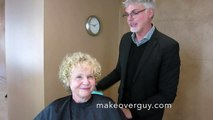 MAKEOVER! Work with my Naturally Curly Hair! By Christopher Hopkins,The Makeover Guy®