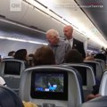 Former US President Jimmy Carter Took A Flight From Atlanta to DC, But Before he took His Seat, He Made Sure To Shake The Hand of Every Single Passenger