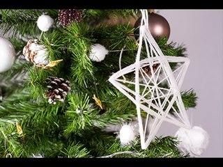 DIY Noël : Etoile en suspension