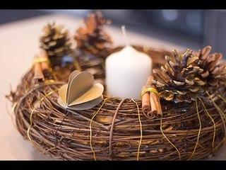 DIY : Couronne de Noël décorative