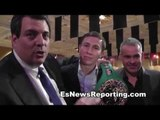 GGG With WBC & WBA Presidents Who Ends Up With Belt - EsNews