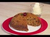 Pudding de Noël / Christmas Pudding ou Plum pudding (fait maison)