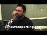 Oscar De La Hoya On Keith Thurman vs Pacquiao & Mayweather