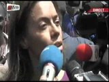 Reaction de Sindiely WADE après les huées du candidat de FAL2012 Abdoulaye WADE