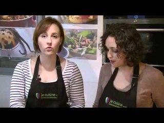 Bouchées de foie gras au pain d'épices et chutney de figues avec NotreFamille.com