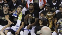 Warriors take down Cavaliers to reclaim NBA title