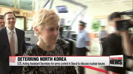 Two senior U.S. officials in Seoul to discuss nuclear issues, upcoming S. Korea-U.S. summit