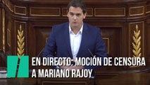 En Directo: Moción de censura de Podemos contra Mariano Rajoy