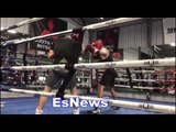 Robert Garcia Boxing Academy Sparring - EsNews Boxing