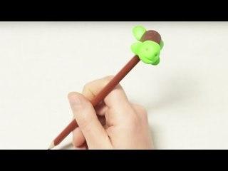 Fabriquer un animal à fixer sur un crayon
