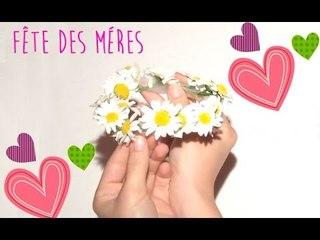 DIY la Fête des Mères.Headband/couronne de fleurs
