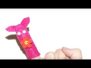 Fabriquer une marionnette à doigt