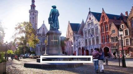 Bruges by tube