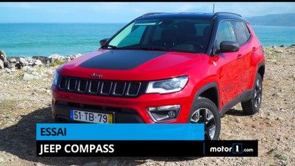 Essai - Jeep Compass (2017)