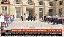 Hommages au couple de policiers tués à Magnanville