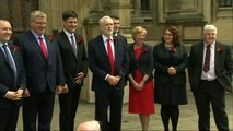 Corbyn welcomes new Scottish Labour MPs to Westminster
