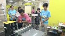Des japonais réalisent une machine de Rube Goldberg