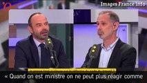 Édouard Philippe-François Bayrou: première passe d'armes
