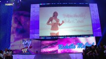 Maryse, Victoria and Natalya vs. Michelle McCool, Maria and Brie Bella