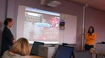 Un journal numérique multilingue en réalité augmentée