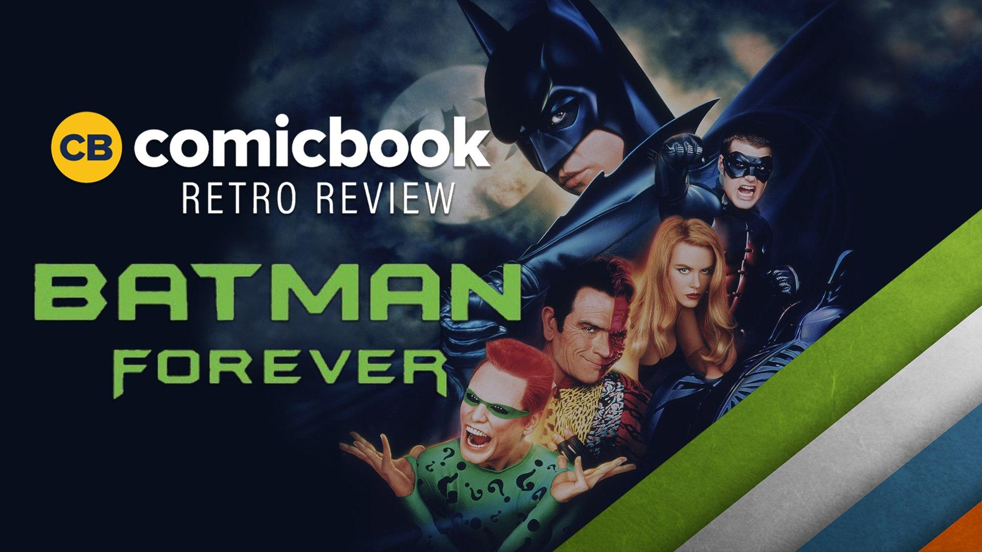 Batman Forever 1995 Comicbook Retro Review Video Dailymotion