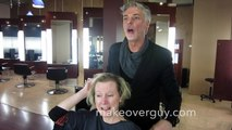 MAKEOVER: Fine Thin Hair to a Shocking Pixie, by Christopher Hopkins, The Makeover Guy®