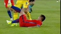 romania - chile medel red card