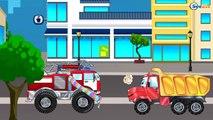 Ambulans, Kamyon ve Yarış Arabası - Eğitici Çizgi Film - Akıllı Arabalar - Türkçe İzle Bölüm 2,Çocuklar için çizgi filmler izle 2017